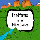 United States Landforms Dictionary