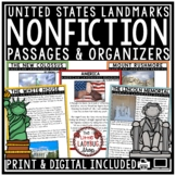 US Landmark Nonfiction Reading Comprehension Passages and Questions 4th Grade