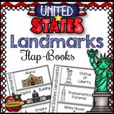 United States Landmarks Flap-Books