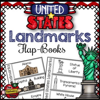 United States Landmarks Flap-Books