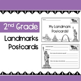 United States Landmarks Research Project - Creating Postcards