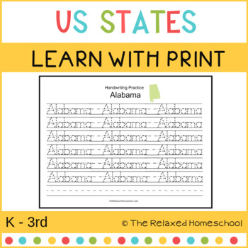United States Learning With Print - K- 3rd