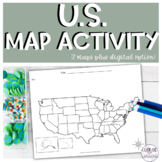 United States Map Activity || Geography