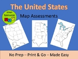 United States Map Assessments