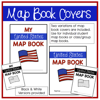 United States Map Book