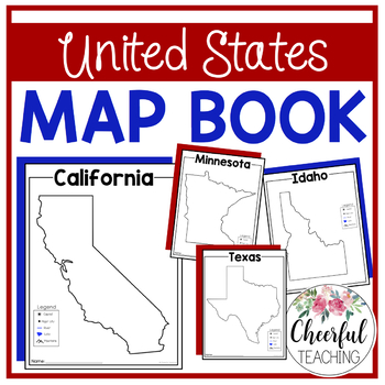 united states map book united states map book