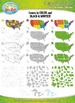 United States Map Clipart — Includes States, Regions, and Great Lakes!