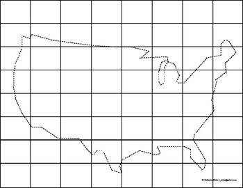 United States Map Drawing Helps with Magic Square Game
