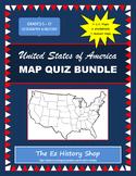 United States Map Quiz Bundle