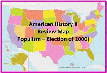 United States Map Review 2