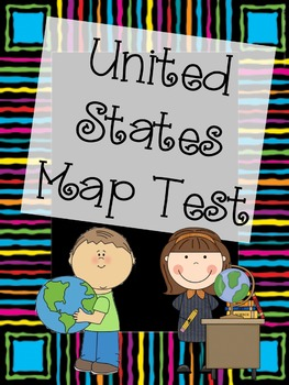 United States Map Test Bundle