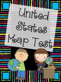 United States Map Test Bundle