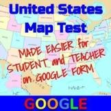 United States Map Test - Google Form