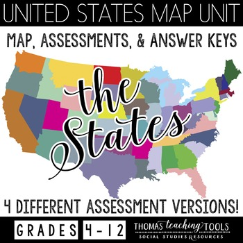 United States Map and Assessments