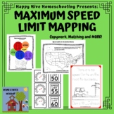 United States Mapping of Maximum Speed Limits Fun with Cars!