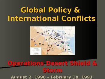 United States & Minor Wars - Gulf War - Operation Desert Storm