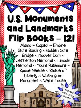 United States Monuments Flip Books
