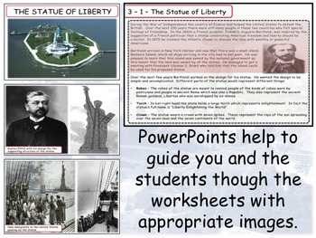 The Statue of Liberty - Unit