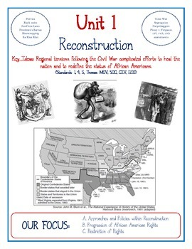 U.S. & N.Y.S. Framework Preview Pages (Units 1-9, Reconstruction to Present)