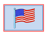United States National Anthem (Star Spangled Banner) Lyric Sequencing Cards