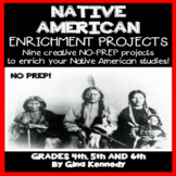 Native American  Projects for Upper Elementary Students