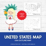 FREEBIE United States Outline Maps