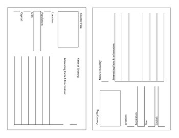 United States Passport Template (Ready to Print)