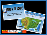 United States Physical Geography Class GAME: US Geography