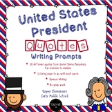 United States President Quotes Writing Prompts