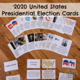 United States Presidential Election Cards