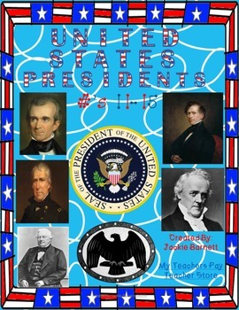 United States Presidents #11-15 including a game!