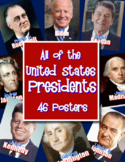 United States Presidents - 45 Posters! Presidents Day! (Up