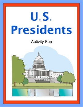 United States Presidents Activity Fun