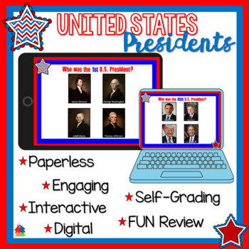 United States Presidents (BOOM Cards)
