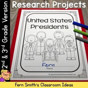 Presidents Day - United States Presidents Book for 2nd and 3rd Grade