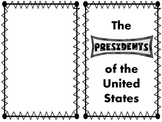 United States Presidents Emergent Reader Printable Book