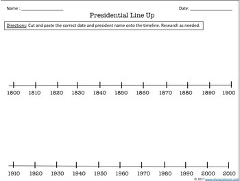 United States Presidents: Fact Discovery and Sequencing Activities
