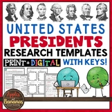 US Presidents Research Templates