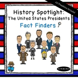 United States Presidents Unit - Fact Finders Notebooking P