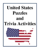 United States Puzzles and Trivia Activities