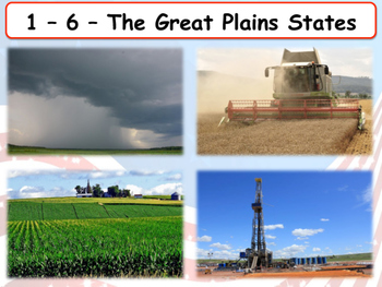 United States Regions - Section 6 - Great Plains States