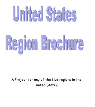 United States Region Brochure Project