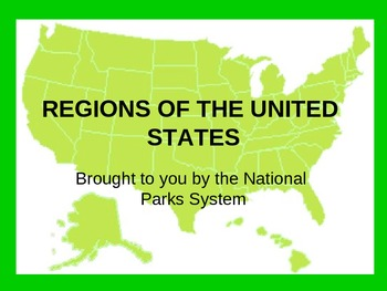 United States Regions Powerpoint