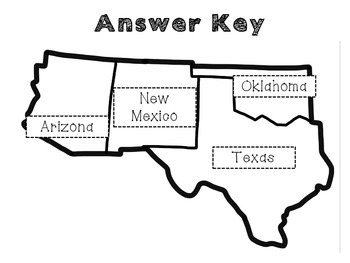 United States Regions: A cut and paste activity