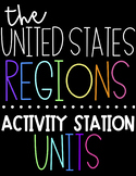 US Regions Activity Stations   The United States Regions I