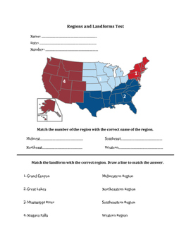 United States Regions Assessment