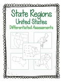 United States Assessments - States, Abbreviations and Capitals