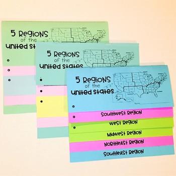 United States Regions Flipbook
