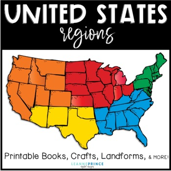 United States Regions Fun Activities For Teaching About U S Regions