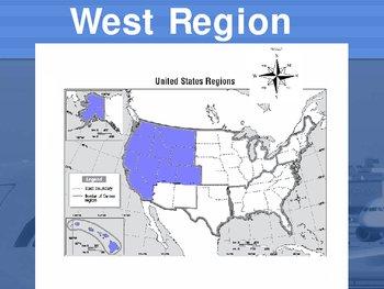 United States Regions Power Point